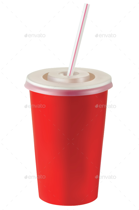 Fast Food Paper Cup - Man-made Objects Objects