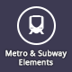 Metro and Subway Elements - GraphicRiver Item for Sale