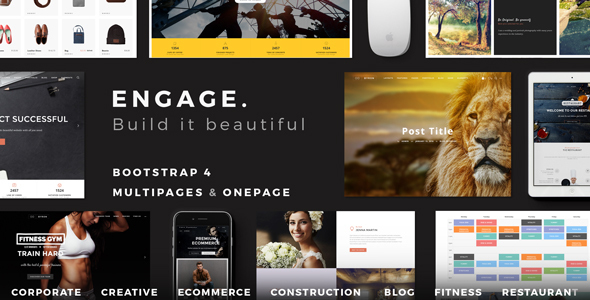 Engage - Creative Multipurpose HTML Theme