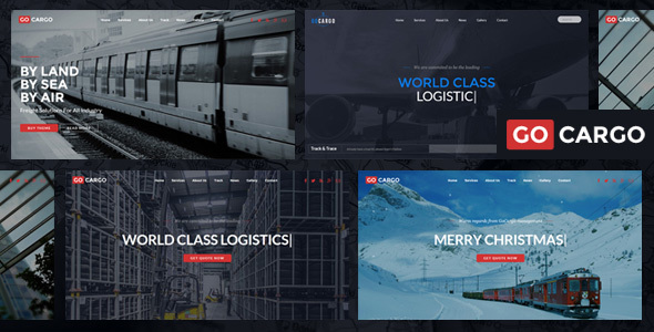 GoCargo - Freight, Logistics & Transportation WordPress Theme - Business Corporate