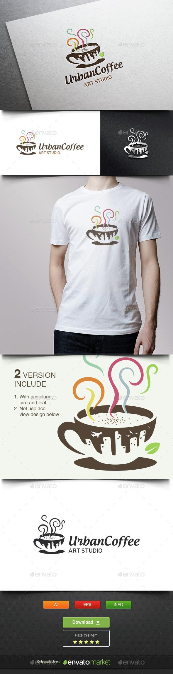 Urban Coffee - Food Logo Templates