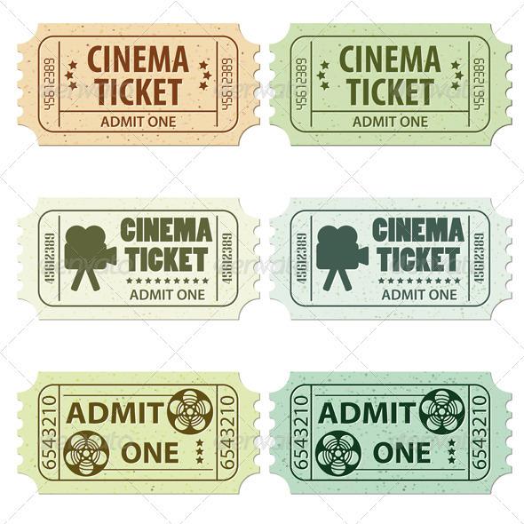 Set Cinema Ticket - Media Technology