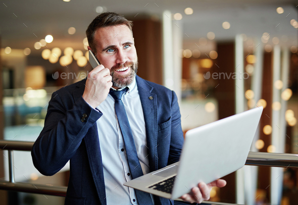 Manager at work - Stock Photo - Images