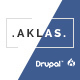 Aklas - Clean & Creative Drupal 8 Theme Nulled