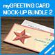 myGreeting Card Mock-up Bundle 2 - GraphicRiver Item for Sale