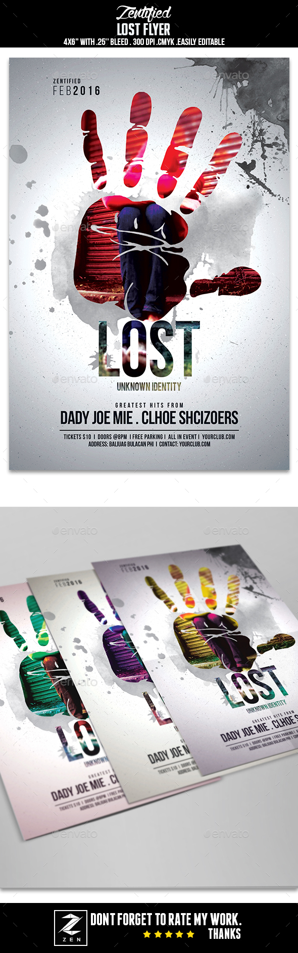 Lost Event Flyer - Events Flyers
