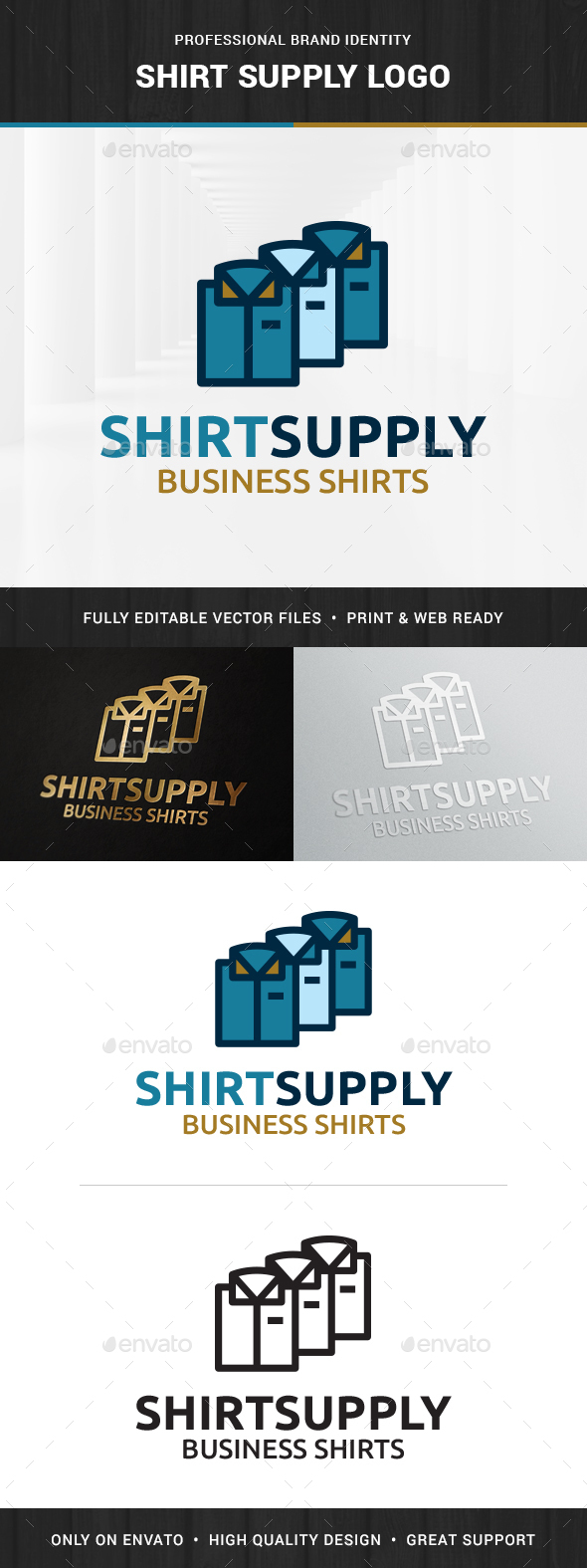Shirt Supply Logo Template - Logo Templates