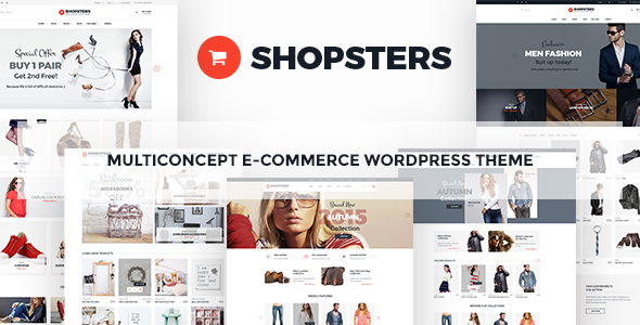 Shopsters – Multiconcept Ecommerce WordPress Theme