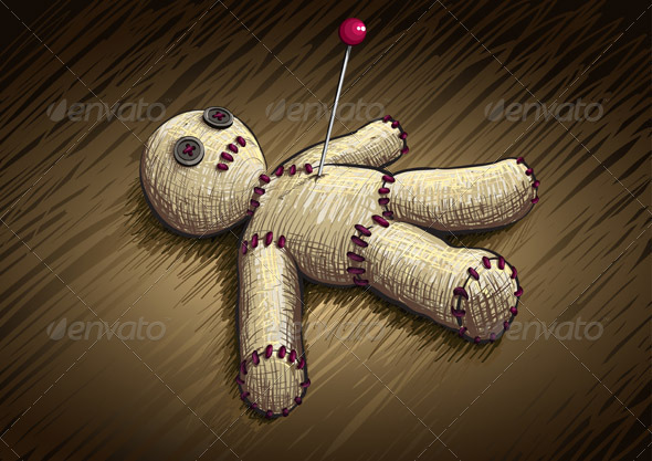 Voodoo Doll - Miscellaneous Vectors