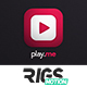 Play.me // Music App Promo - VideoHive Item for Sale