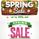 Spring Sale Badges - GraphicRiver Item for Sale