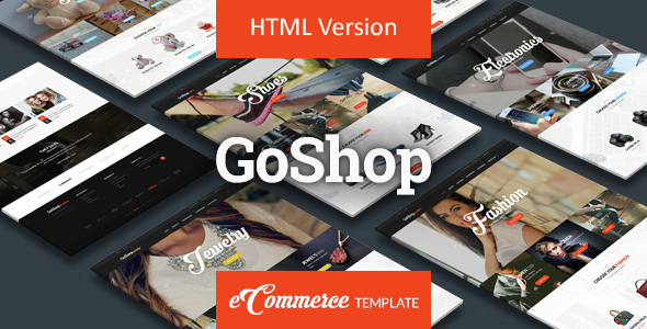 GoShop - Premium HTML Ecommerce Template - Retail Site Templates