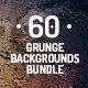 60 Grunge Backgrounds Bundle - GraphicRiver Item for Sale