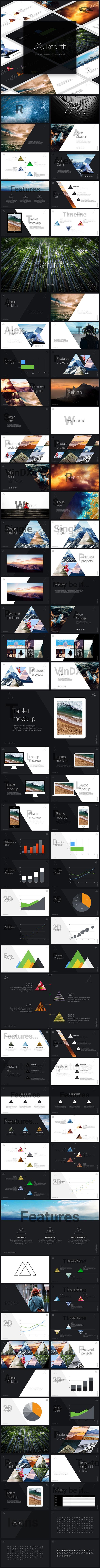 Rebirth PowerPoint Presentation - Creative PowerPoint Templates