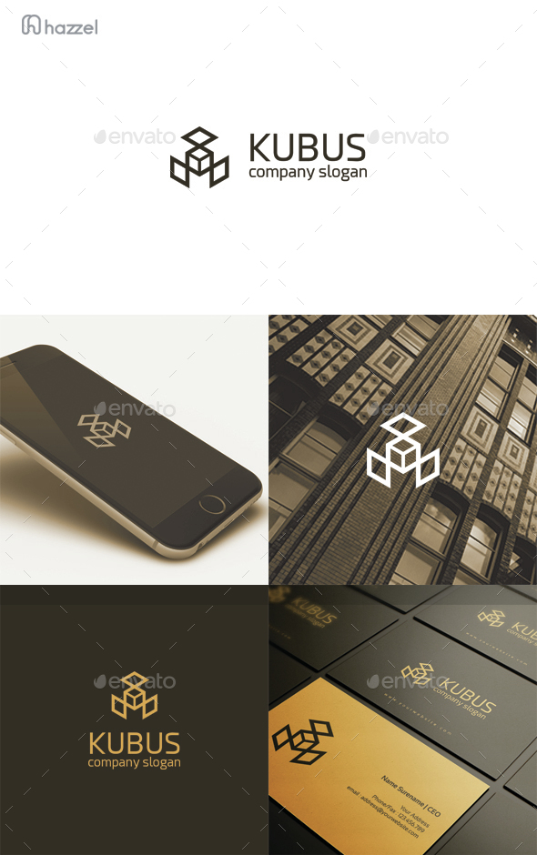Kubus Logo - Abstract Logo Templates