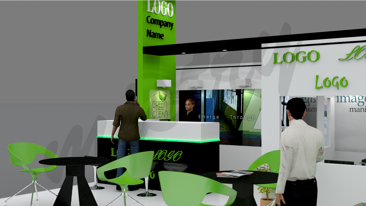 Exhibition Stand 3d Model : Exhibition booth 3d model by mistry89 3docean