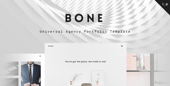 Bone – Responsive Agency Portfolio HTML Template
