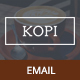 Kopi, Restaurant Email Template + Builder Access - ThemeForest Item for Sale