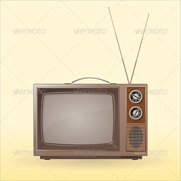 Old Retro TV - Retro Technology