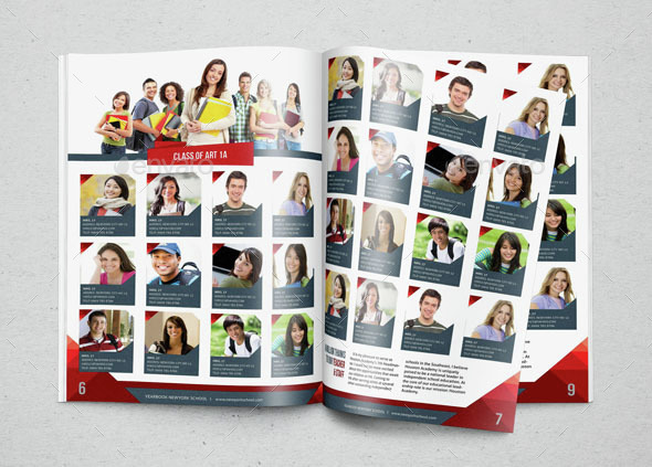 yearbook template design vol 2hiro27 | graphicriver, Powerpoint templates