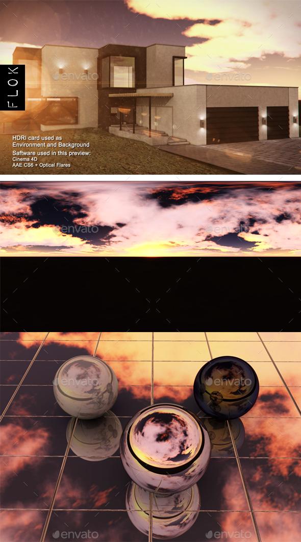 SunsetDesert 53 - 3DOcean Item for Sale