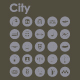 25 City icons - GraphicRiver Item for Sale