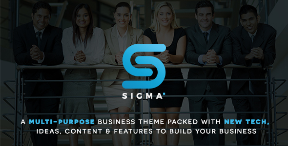 SIGMA | Business Multi-purpose & Latest Technology Responsive WordPress Theme