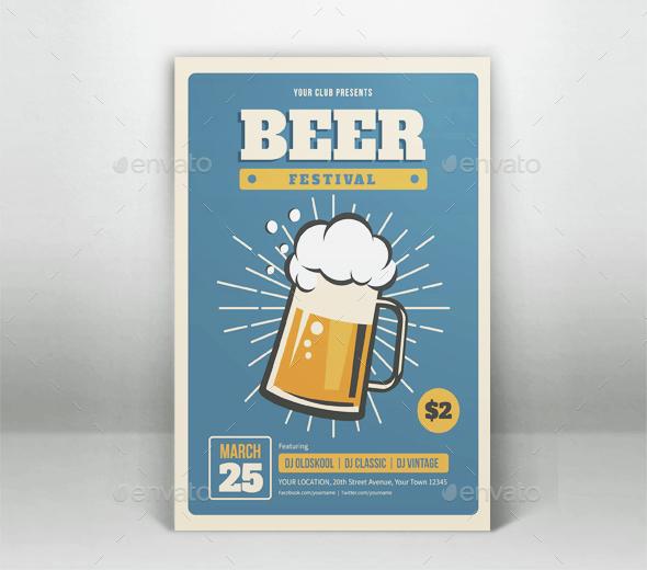 Beer Festival Flyer Template