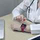 Doctor Using Smartwatch Wearable Technology - VideoHive Item for Sale