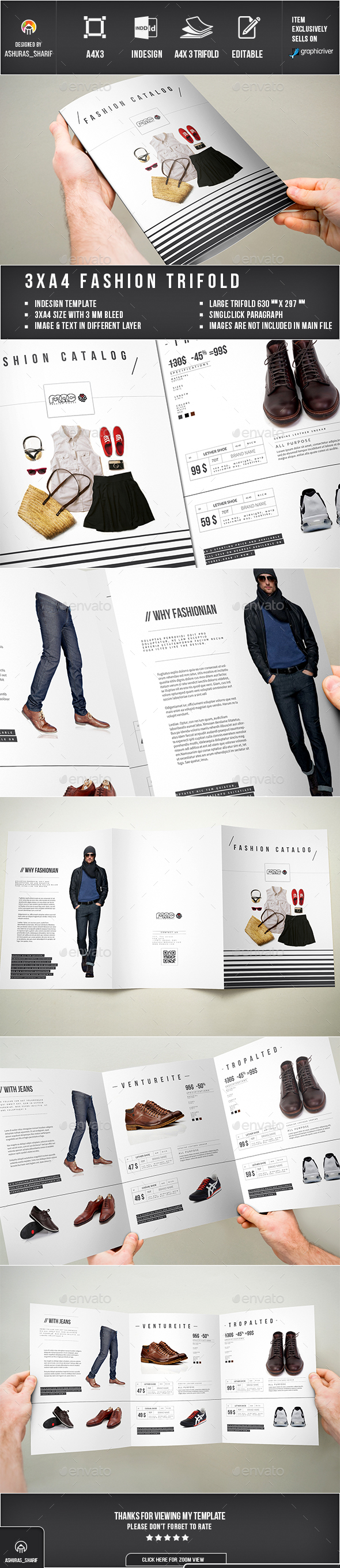 Trifold Product Catalog - Catalogs Brochures
