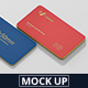 Business Card Mockup Round Corner - GraphicRiver Item for Sale