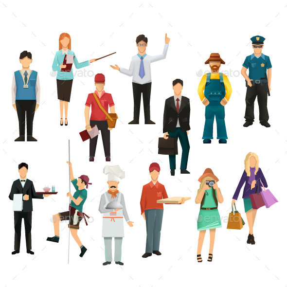 People Icons - People Characters