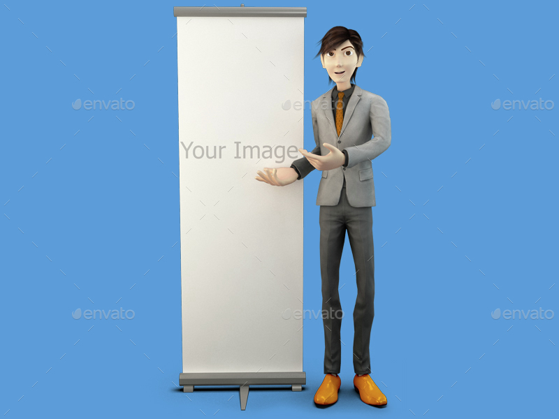 3D Business Character