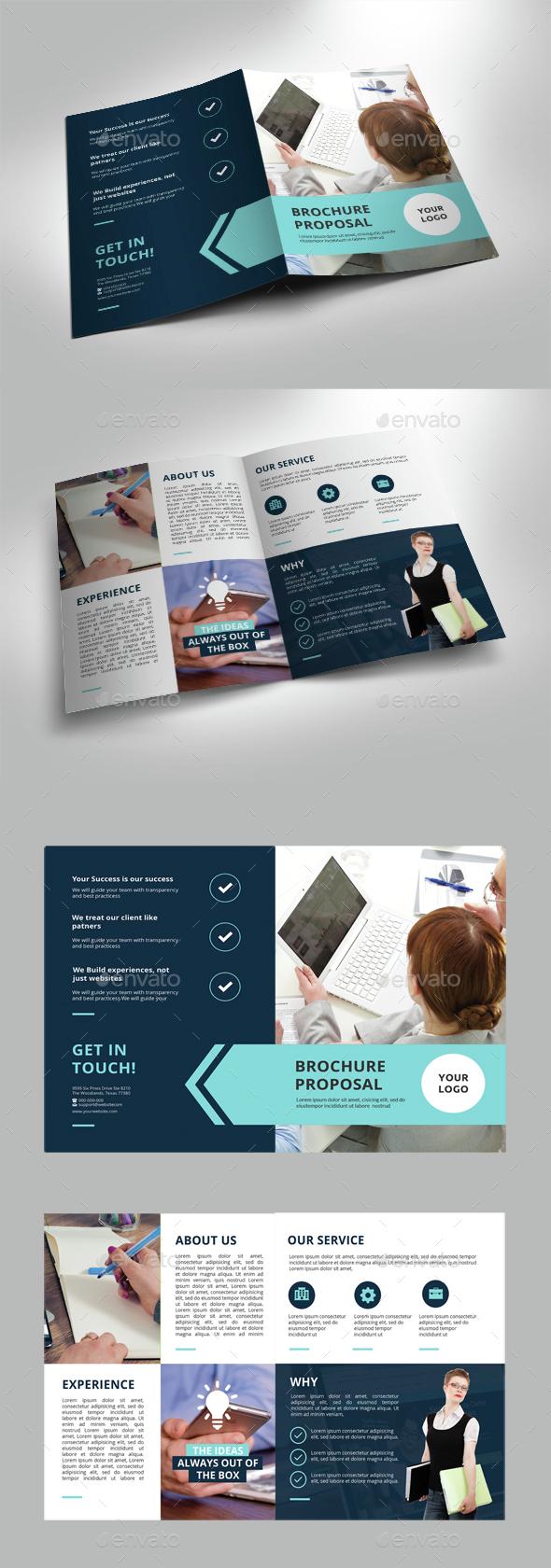 Bi-Fold Corporate Brochure - Corporate Brochures