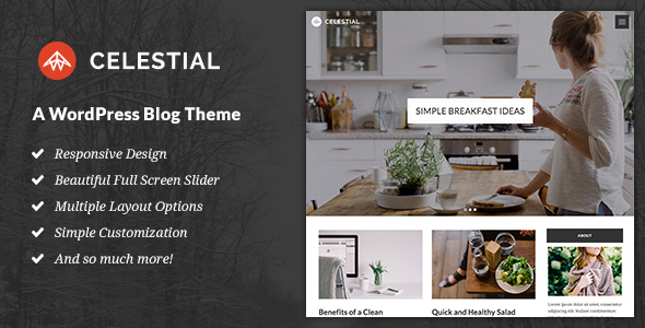 Celestial - A WordPress Blog Theme