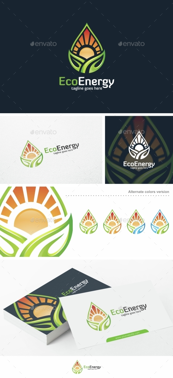 Eco Energy - Logo Template - Nature Logo Templates
