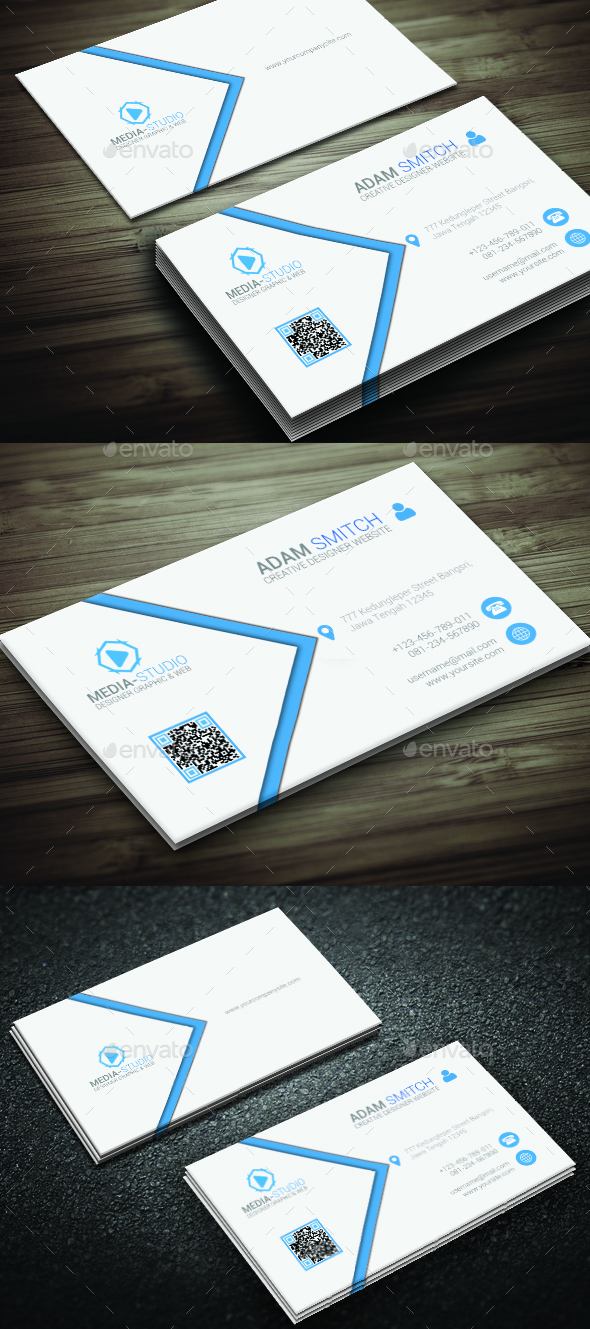 Minimal Elegant Business Card - Corporate Business Cards