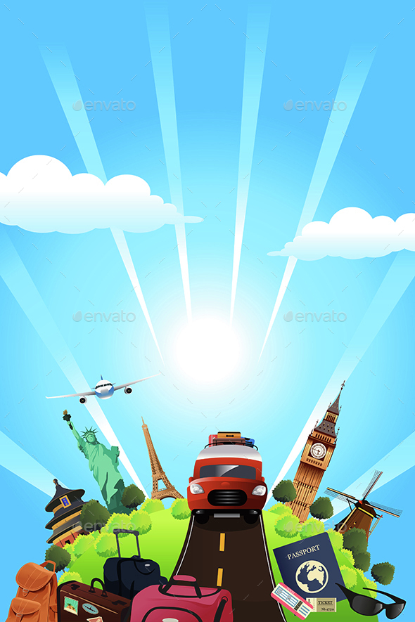 Travel Poster - Travel Conceptual