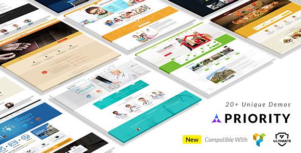 Priority – Multipurpose Responsive WordPress Theme