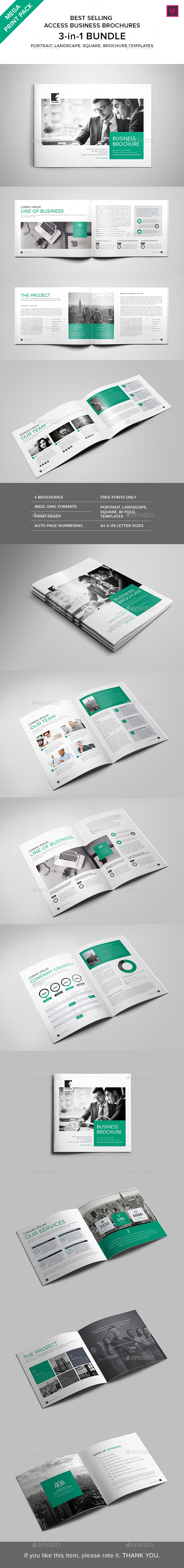 Print Pack :: Access Brochures Bundle - Corporate Brochures
