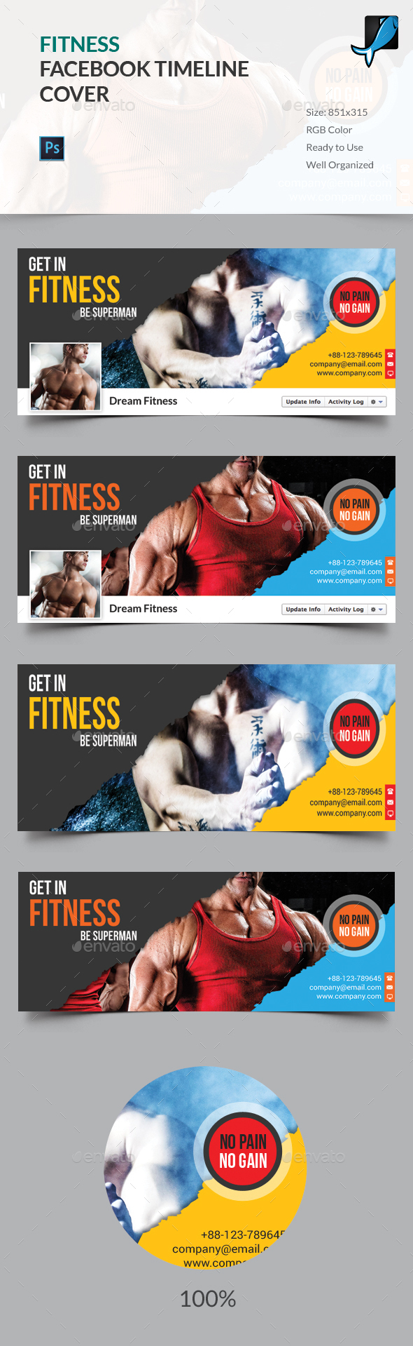Fitness Facebook Timeline Cover - Facebook Timeline Covers Social Media