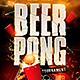 Beer Pong Tournament Flyer Template - GraphicRiver Item for Sale