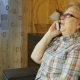 Mature Woman Talking On Cell Phone  - VideoHive Item for Sale