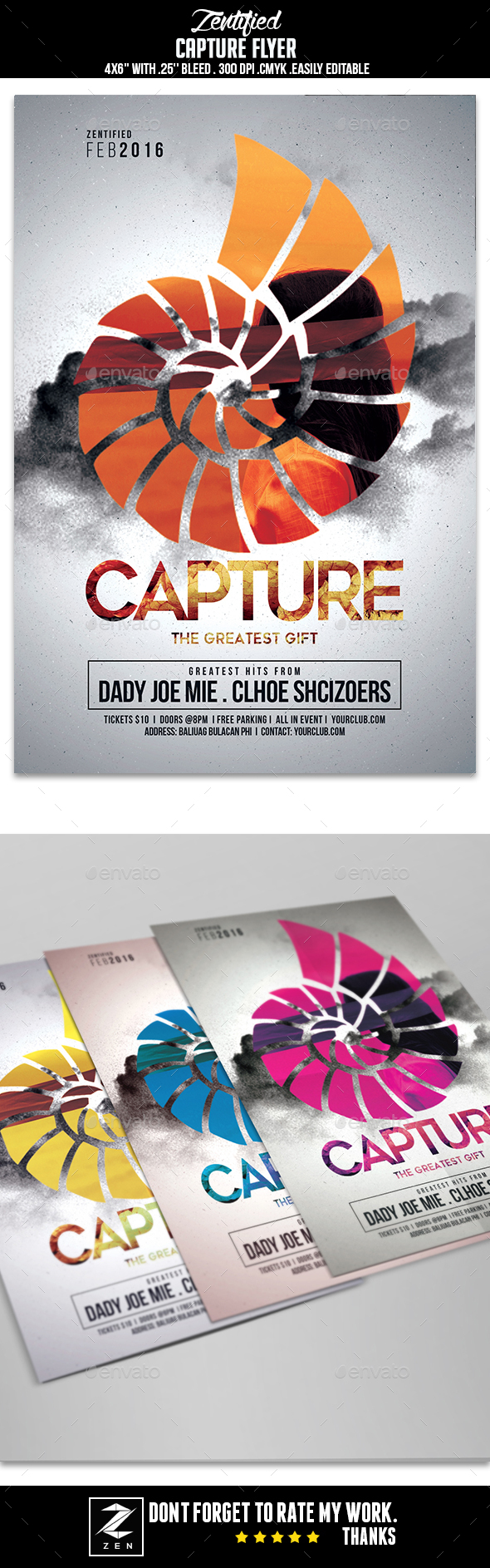 Capture Event Flyer - Events Flyers
