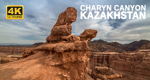 Charyn Canyon in Kazakhstan