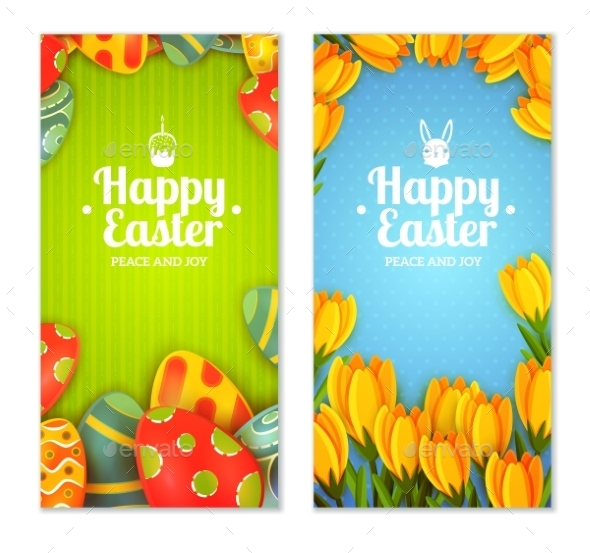 Easter Banner Set - Seasons/Holidays Conceptual