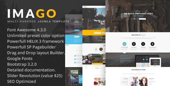 Imago - Multipurpose Joomla Template