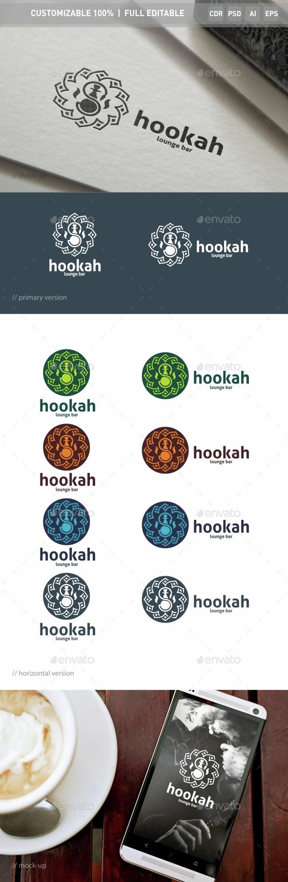 Hookah Logo Template - Objects Logo Templates