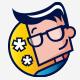 Geek Star Logo - GraphicRiver Item for Sale