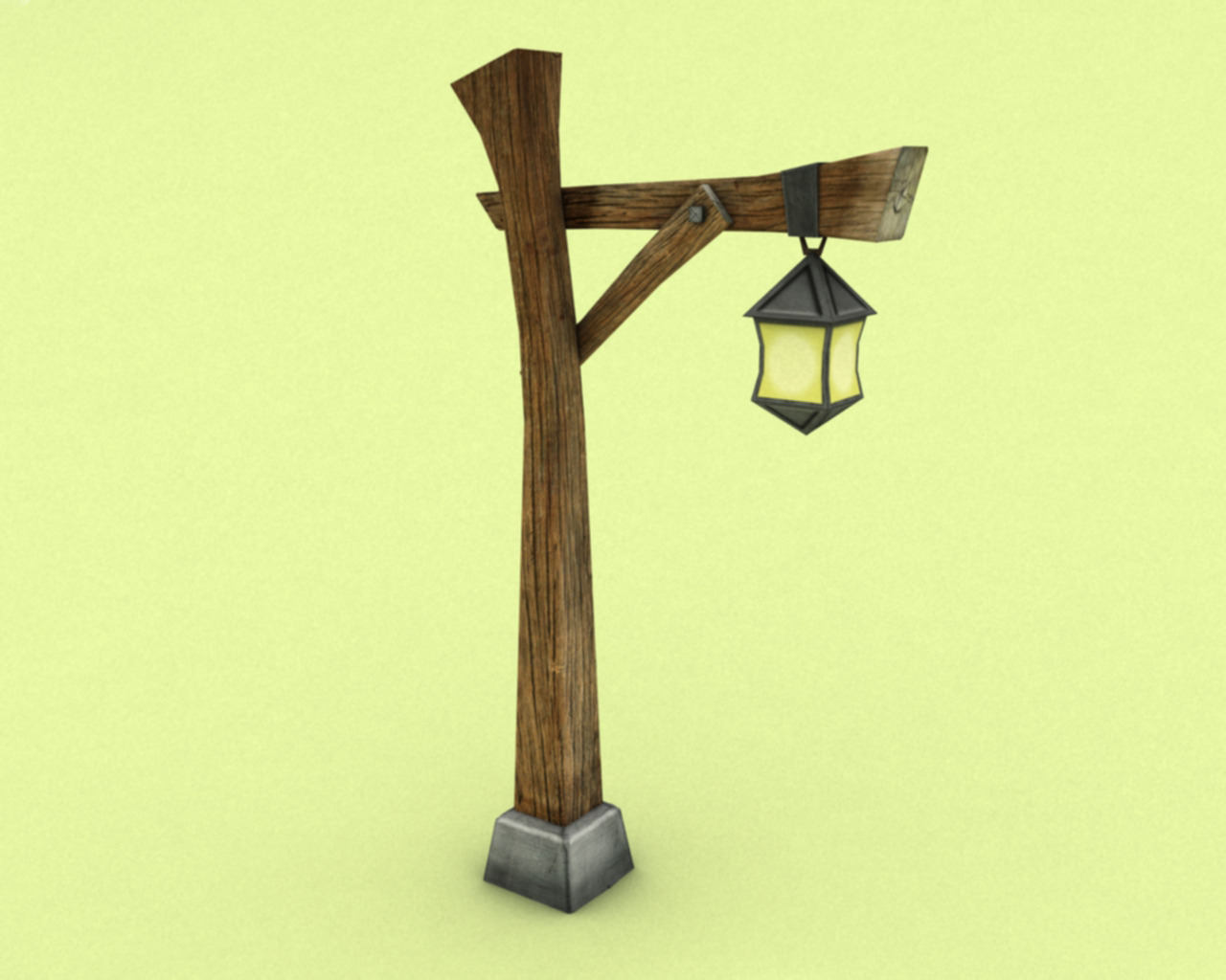 Lighting pole - 3DOcean Item for Sale
